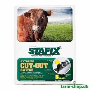 Afbryder til elhegn Stafix Premium (5 stk)