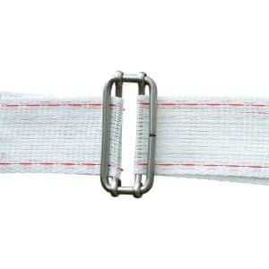 Samler til bredt 40mm polybånd (5 stk)