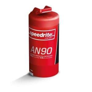 AN90 strømgiver til D-batterier eller 9-12 V (0,16J)