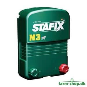 Stafix 230V strømgiver til stødhegn (3J)