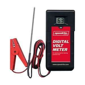 Digitalt voltmeter til elhegn