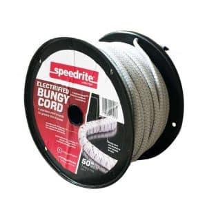 Strømførende elastik elreb (50m)