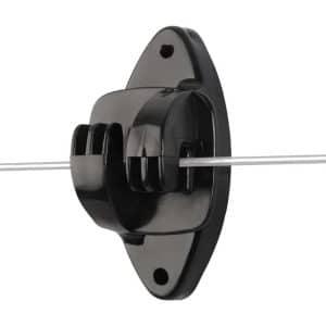 Klo-isolator til hegnstråd – Premium PEL (25 stk)