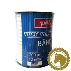 Polytape hvid 12mm (200m)