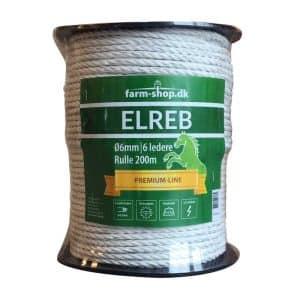Hvid elreb/polyreb (200m)