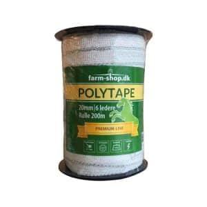 Hvid Polytape B 20mm (200m)