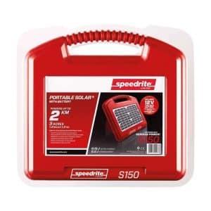 Solcelle strømgiver S150 med batteri (0,2J)