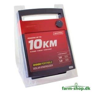 Speedrite S1000 Solcelle Strømgiver m/ Batteri (1,3 J)