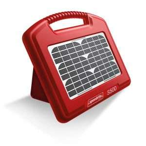 Solcelle strømgiver S500 med batteri (0,63 J)